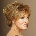 Raquel Welch Always, Rusty Auburn, up-do.
