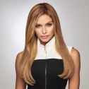 'Gilded 18 inch' hairpiece, Honey Ginger Shadow Shade (SS14/25), Raquel Welch