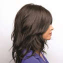 Hayden wig, Dark Chocolate, Amore René of Paris