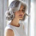 Amal wig, Silver Stone, René of Paris Hi-Fashion