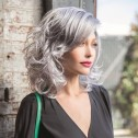 India wig, Smokey Grey R, René of Paris Hi-Fashion