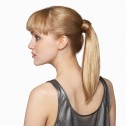 'Perfect Pony' hairpiece, Butterscotch, side.