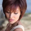 Reese wig, Large, Cherrywood