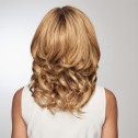 'On The Go 10 inch' hairpiece, Shaded Honey Ginger (RL14/25SS), Raquel Welch