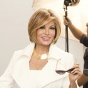 'Straight Up With A Twist' wig, Golden Russet (RL29/25), Raquel Welch