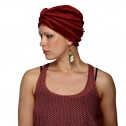 Terry Turban in Red colour, Natural Image