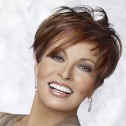 Raquel Welch 'Tres Chic' wig, Glazed Fire