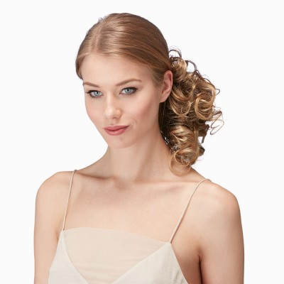 Hot Hair 'Curly Clip-in Pony', Harvest Gold