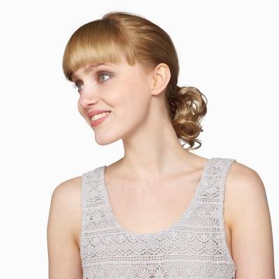 'Dainty Clip' hairpiece, Butterscotch.