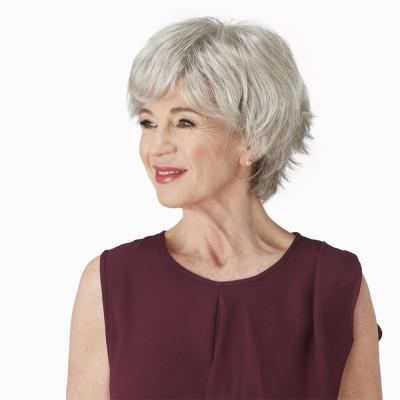 Gracious wig, Sugared Silver (G56+)