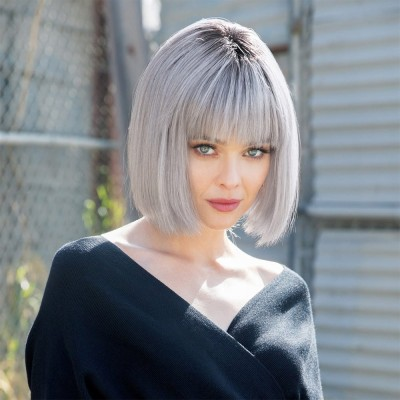 Nico wig, Smokey Grey R, René of Paris Hi-Fashion