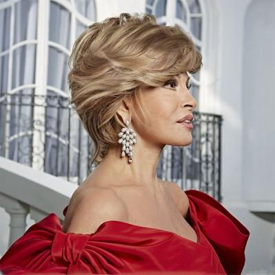 'Hollywood & Divine' wig, Glazed Strawberry (R29S), Raquel Welch